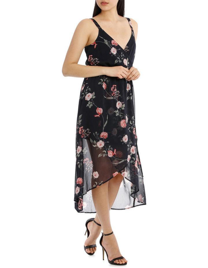 Cross Over Skirt Maxi Dress - Vintage Floral image 2