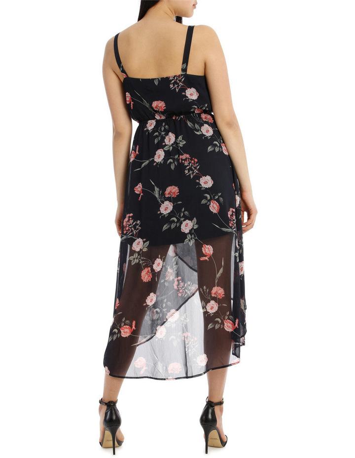 Cross Over Skirt Maxi Dress - Vintage Floral image 3