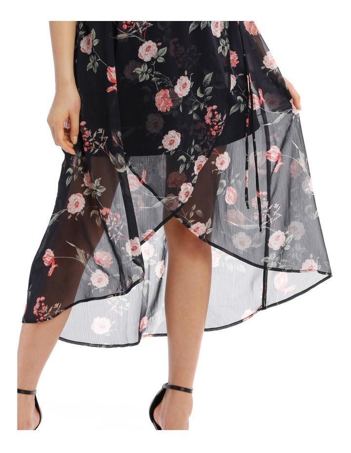 Cross Over Skirt Maxi Dress - Vintage Floral image 4