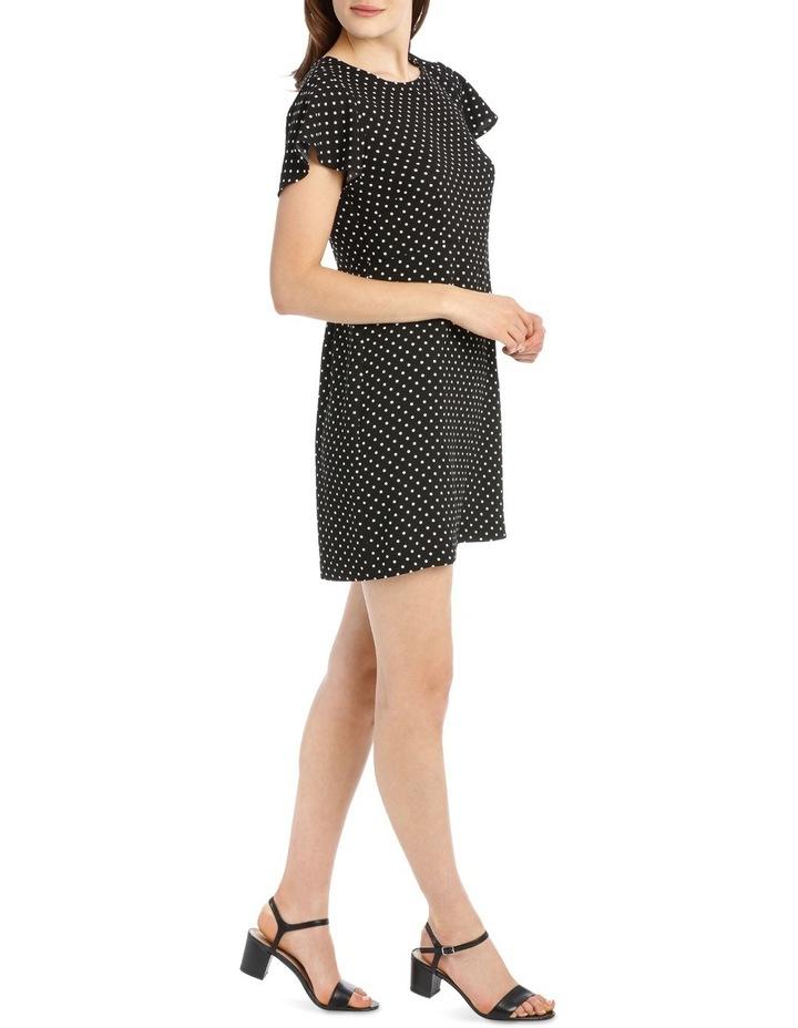 Wing Sleeve Pencil Dress - Spot image 2