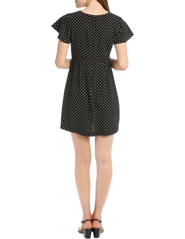 Wing Sleeve Pencil Dress - Spot image 3
