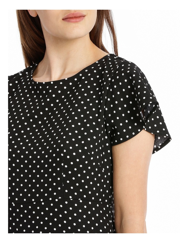 Wing Sleeve Pencil Dress - Spot image 4