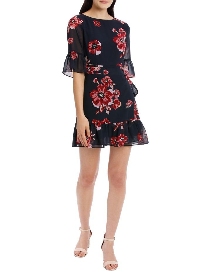 apron front dress - graphic poppy image 1