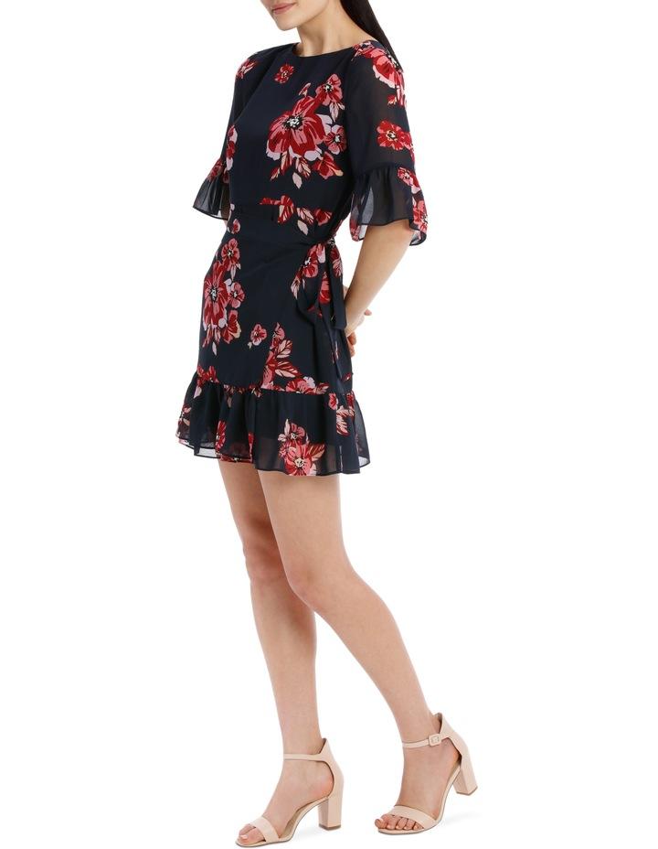apron front dress - graphic poppy image 2