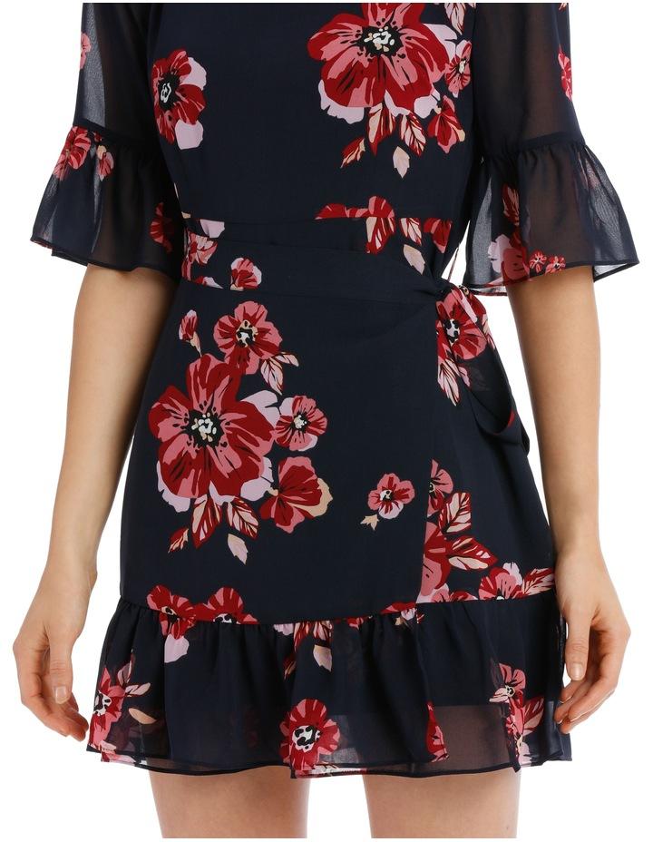 apron front dress - graphic poppy image 4
