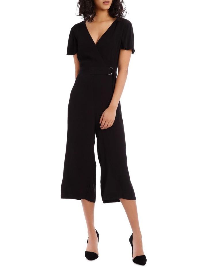 Black Culotte Jumpsuit image 1