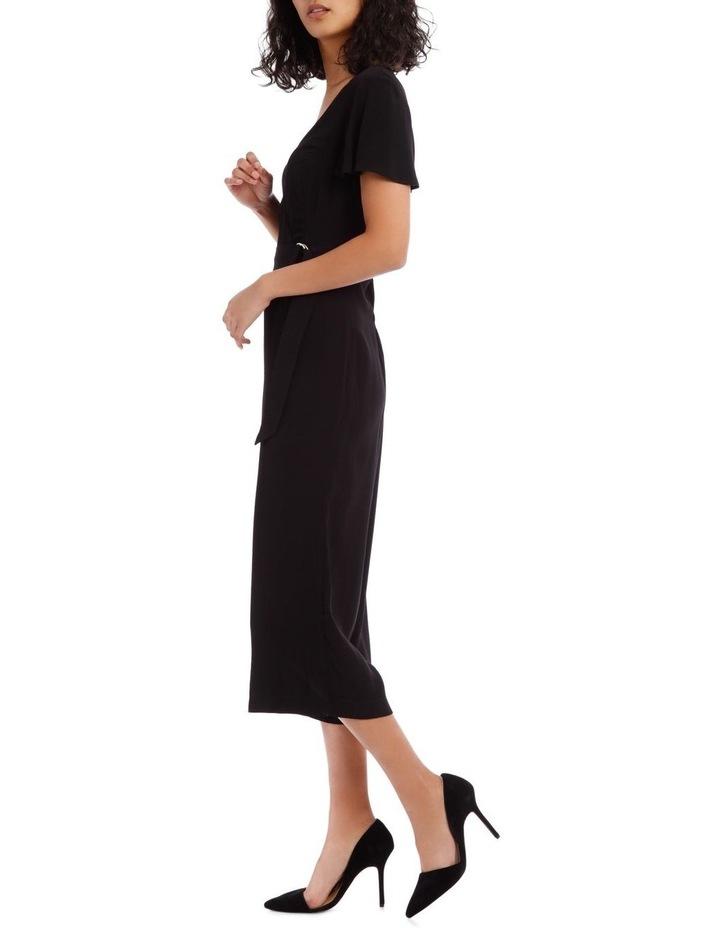 Black Culotte Jumpsuit image 2