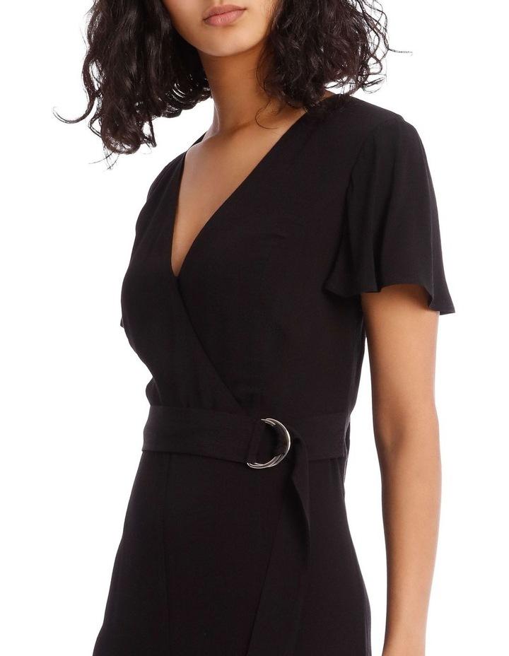 Black Culotte Jumpsuit image 4
