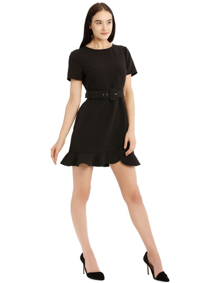 Belted Scuba Dress image 2