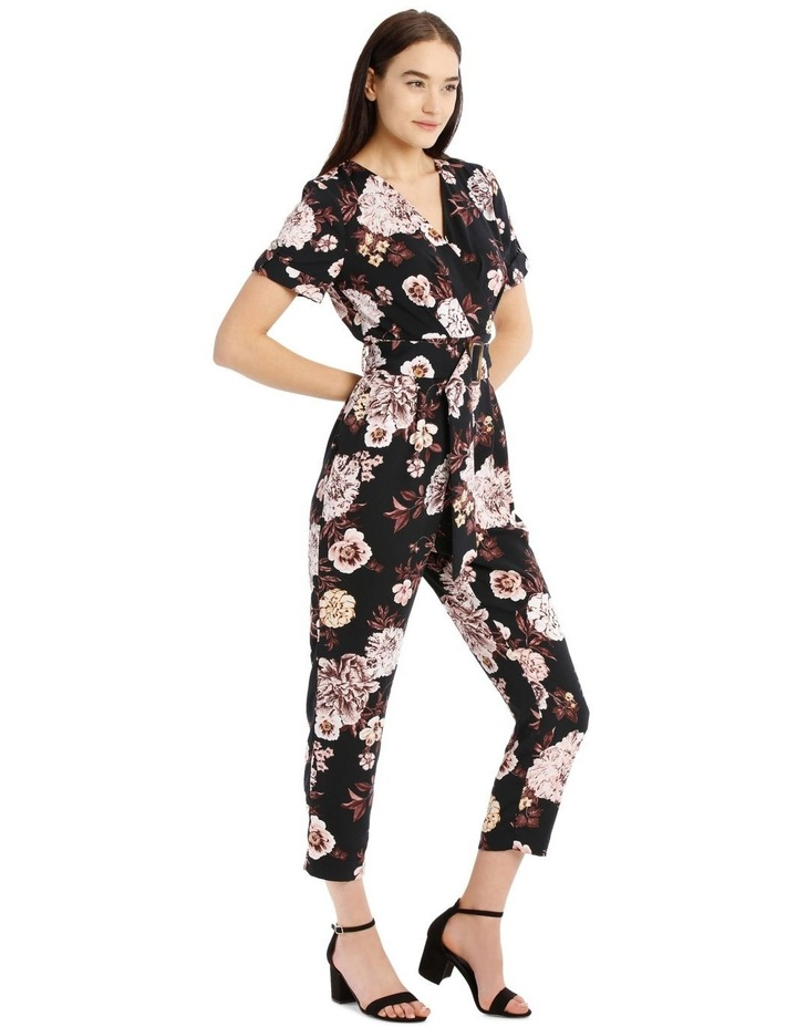 Belted Wrap Bodice Jumpsuit image 2