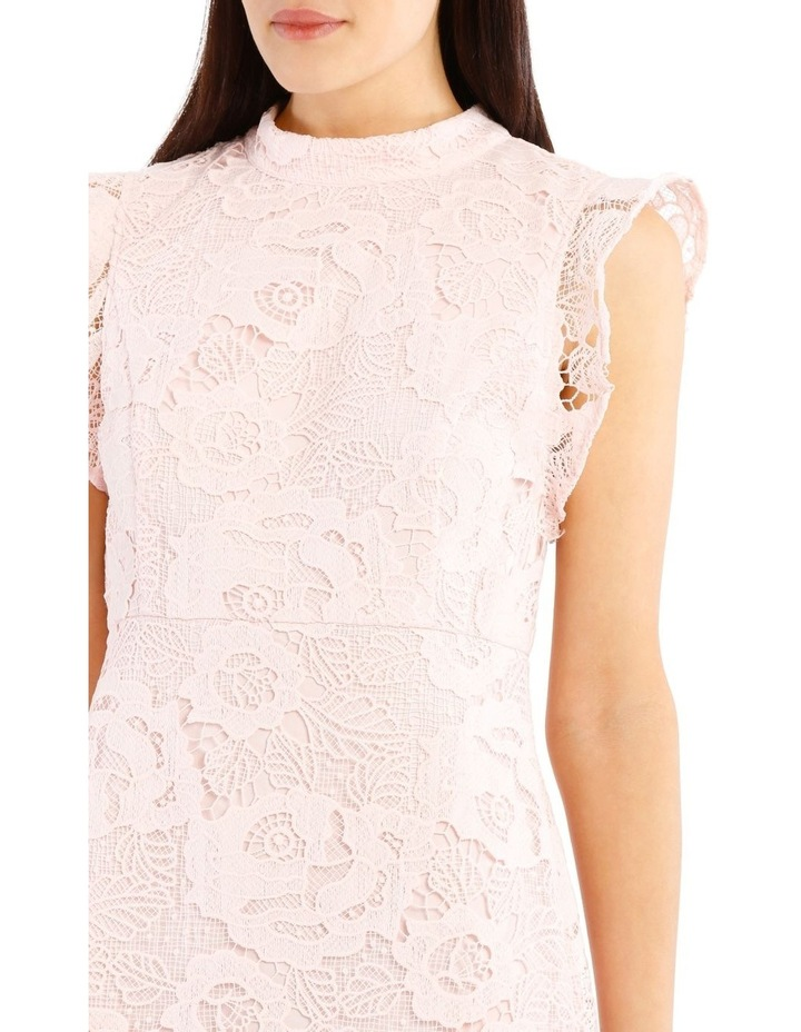 High Neck Lace Dress image 4