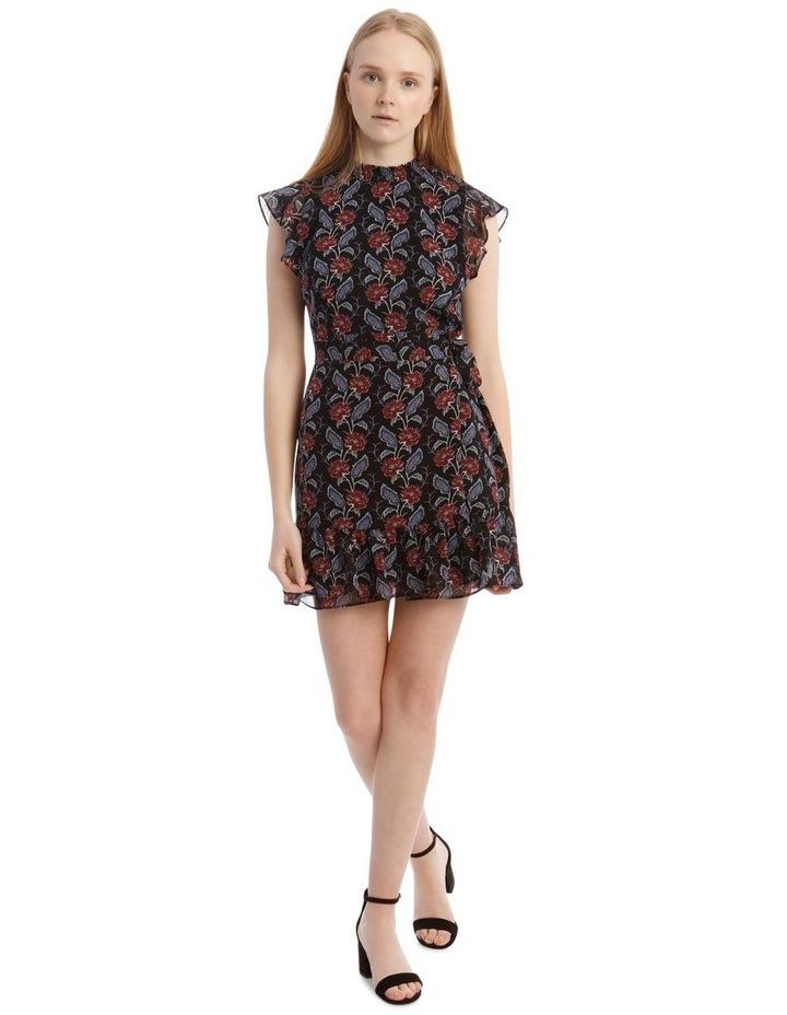 Apron Front High Neck Dress image 1