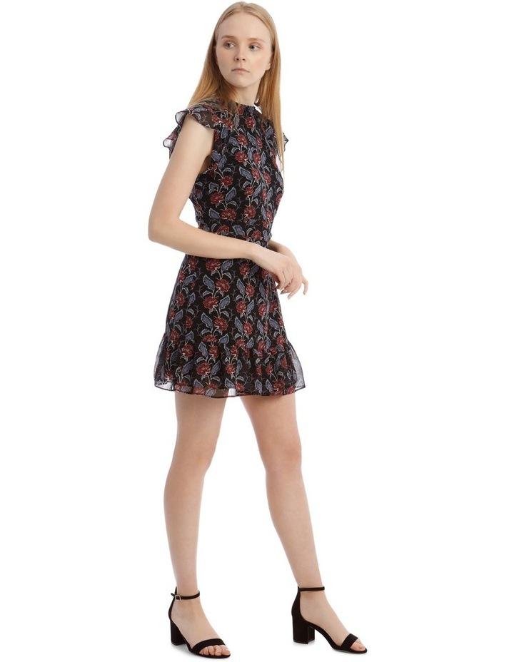 Apron Front High Neck Dress image 2
