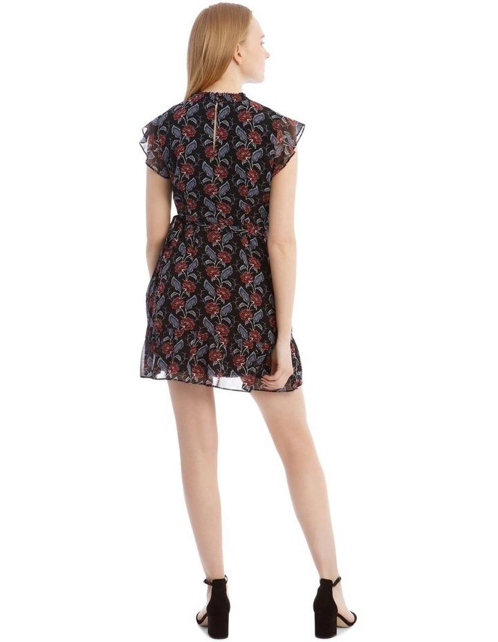 Apron Front High Neck Dress image 3