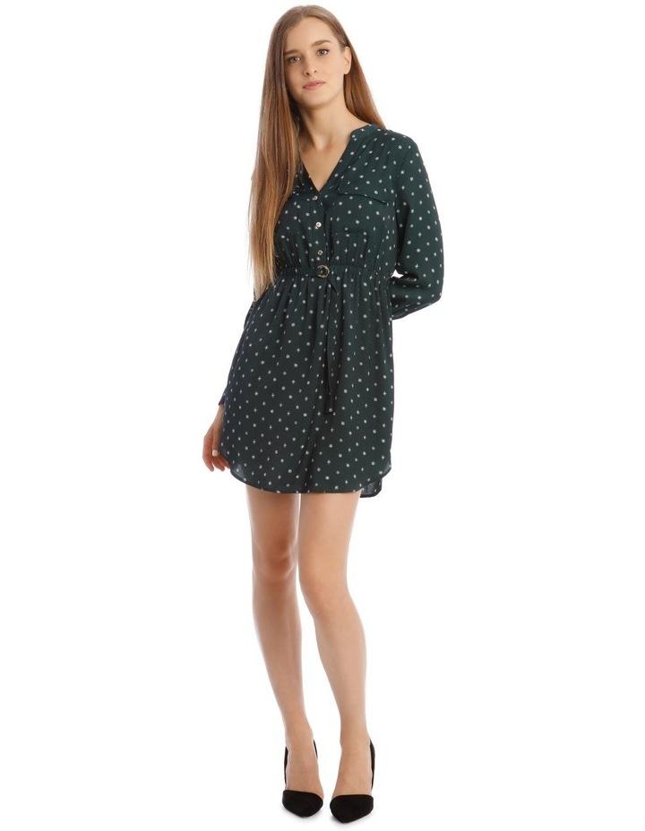 Long Sleeve Shirt Dress image 1