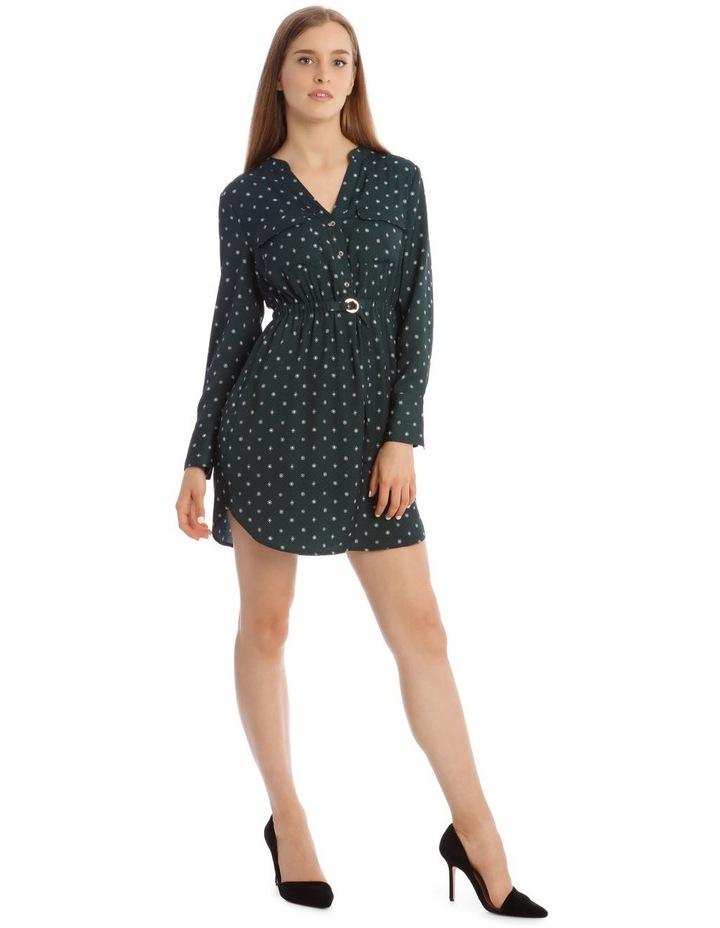 Long Sleeve Shirt Dress image 2