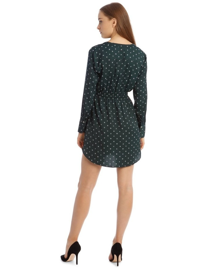 Long Sleeve Shirt Dress image 3