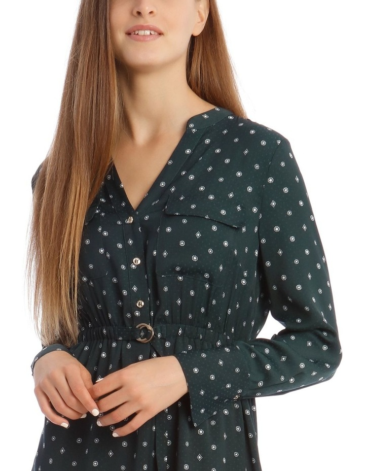 Long Sleeve Shirt Dress image 4