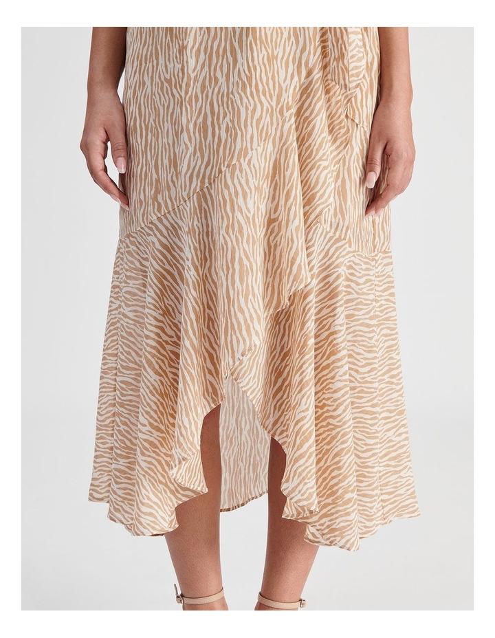 Petite Ruffle Wrap Maxi Dress image 5