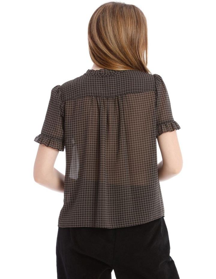 Frill Neck Button Up Shirt image 3