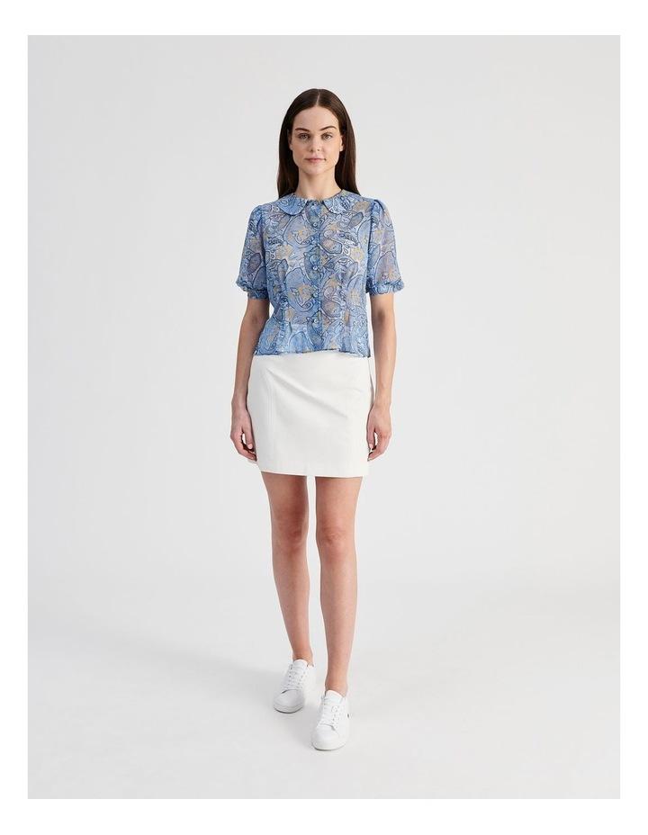 Puff Sleeve Pintuck Shirt image 4