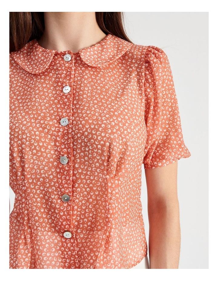Puff Sleeve Pintuck Shirt image 5