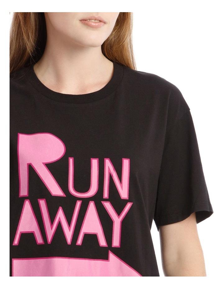 Run Away Graphic Tee image 4