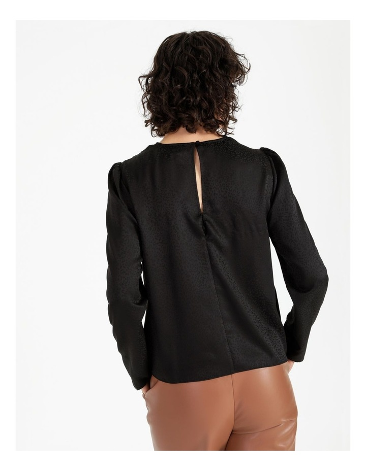 Button Detail Long Sleeve Top image 3