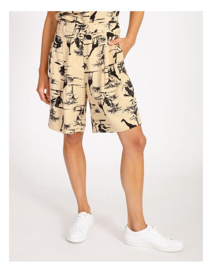 Safari Belted Shorts image 1