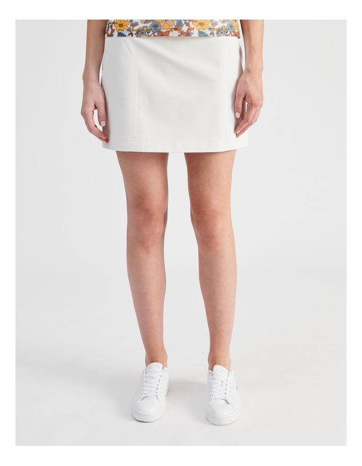 Textured Mini Skirt image 1
