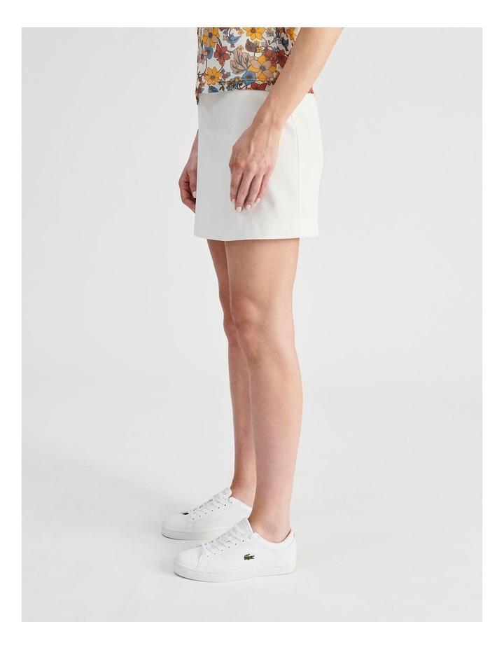 Textured Mini Skirt image 2