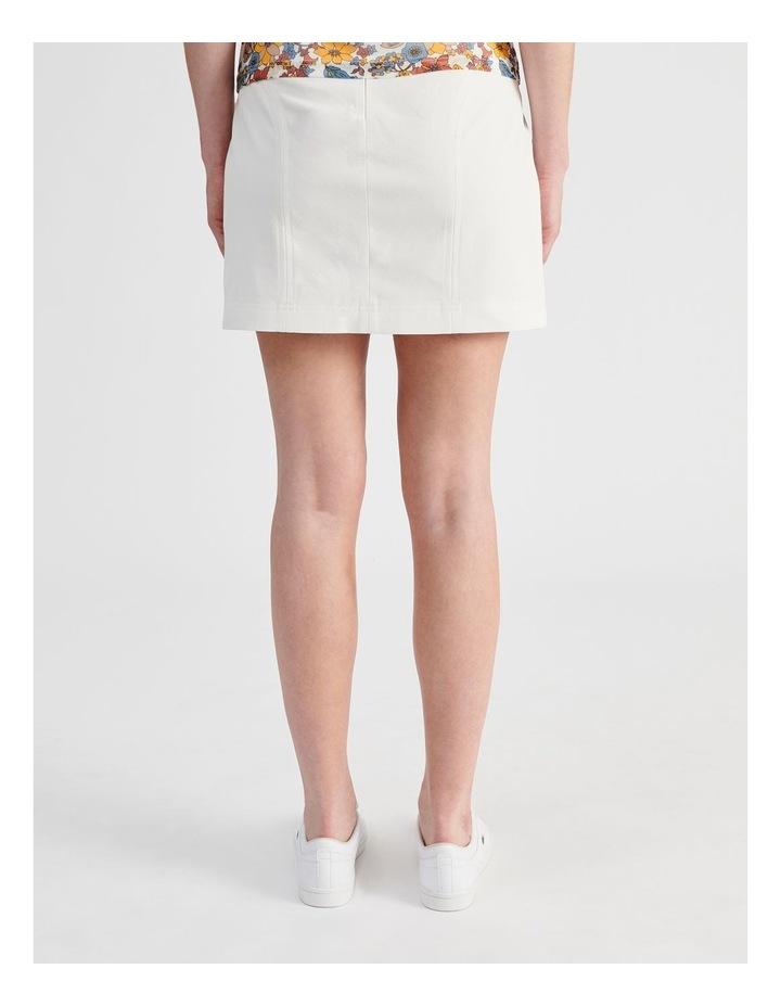 Textured Mini Skirt image 3