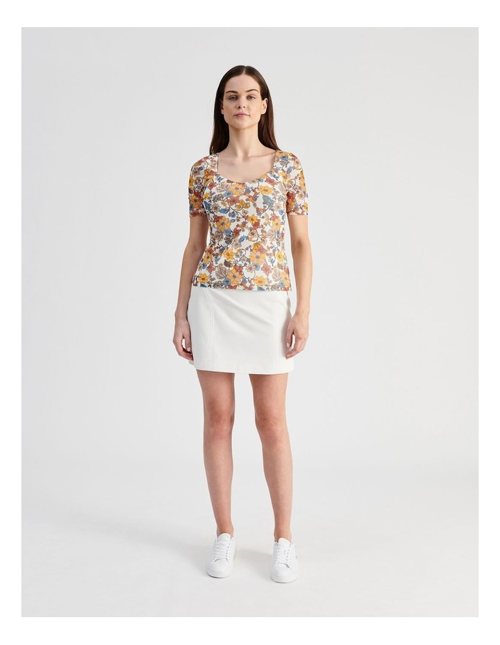Textured Mini Skirt image 4