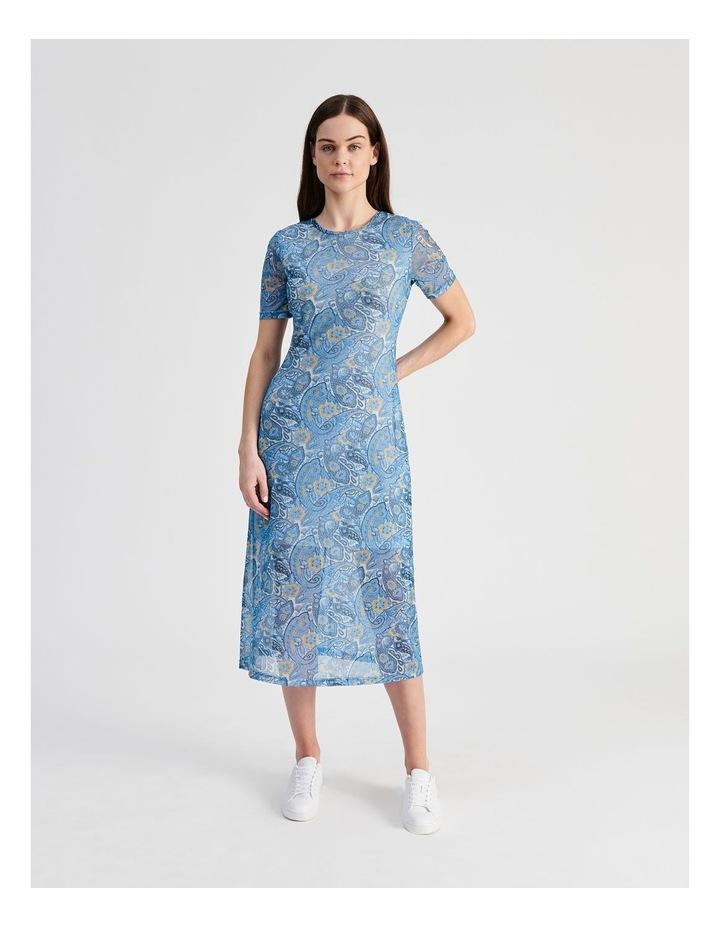 Mesh Midi Dress image 1