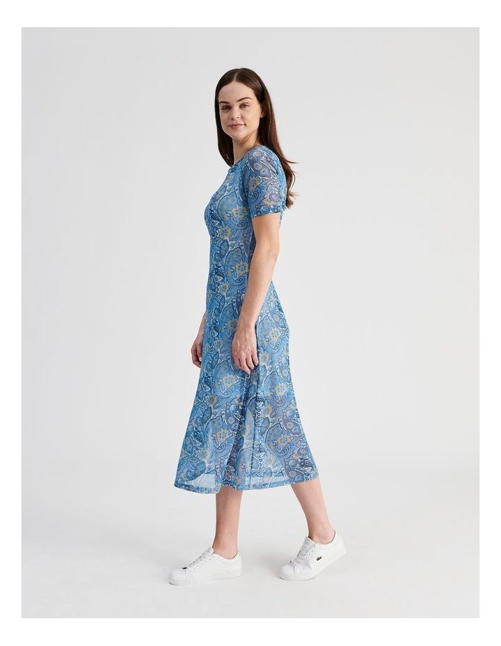 Mesh Midi Dress image 2