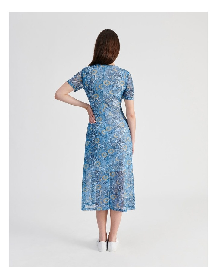 Mesh Midi Dress image 3