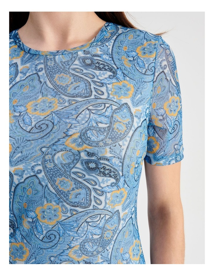 Mesh Midi Dress image 4