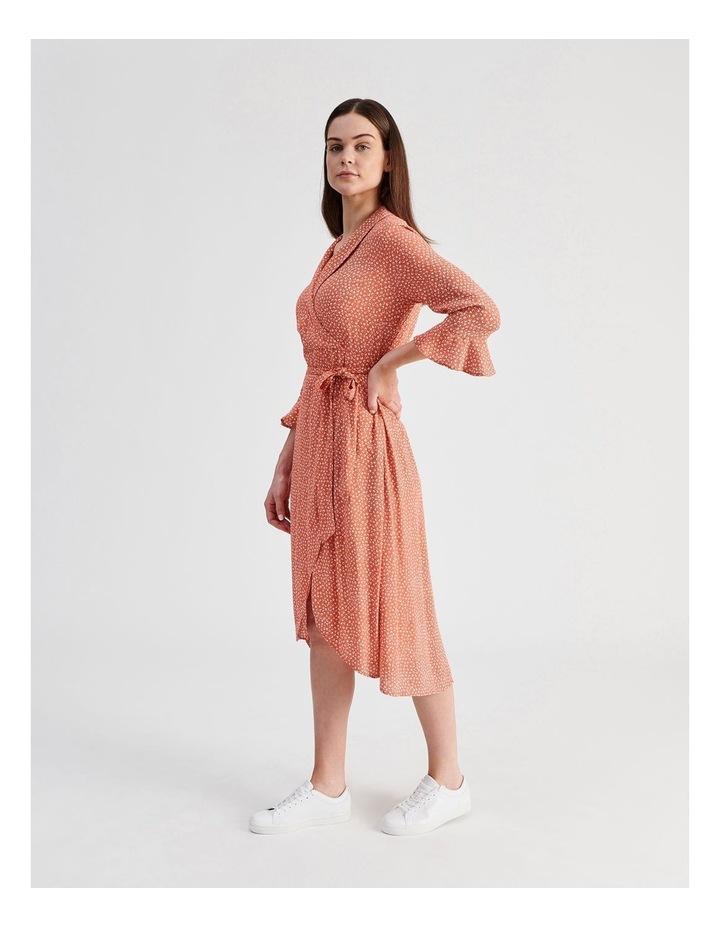 Shawl Collar Wrap Dress image 2