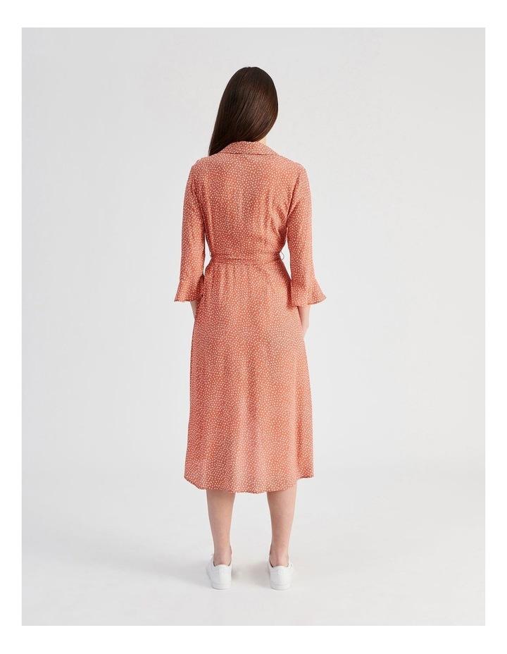 Shawl Collar Wrap Dress image 3