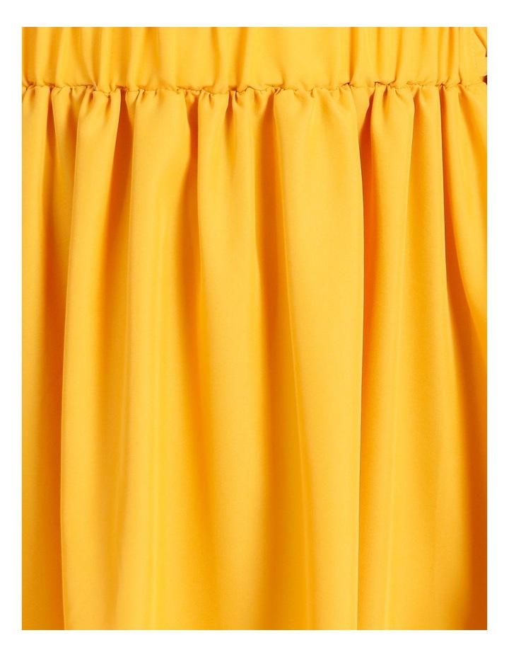 Modal Blend Puff Sleeve Dress image 5