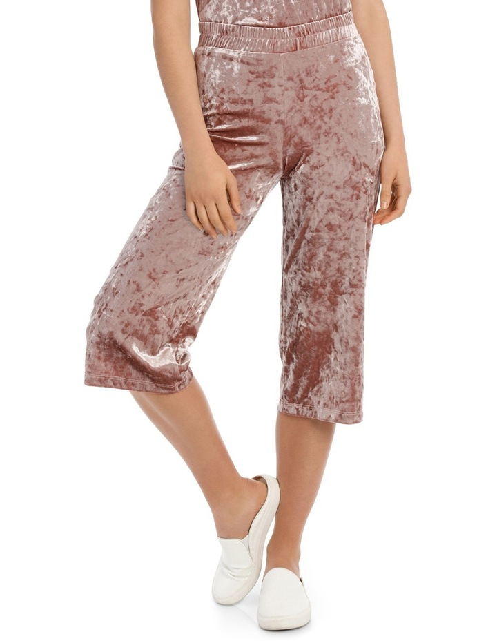 Punti Velour Culotte Pant image 1