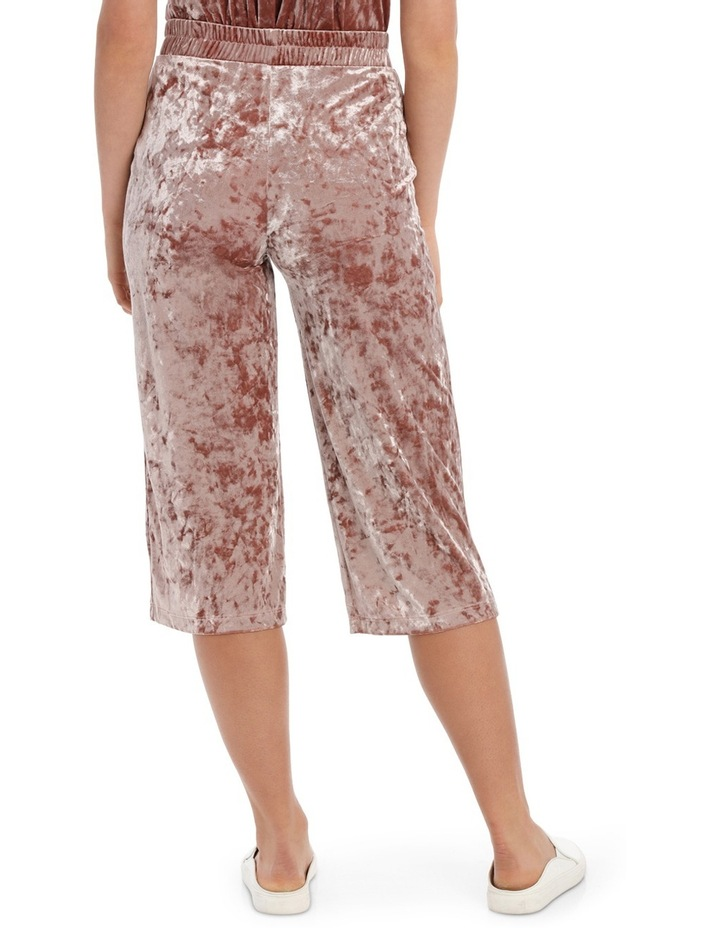 Punti Velour Culotte Pant image 3