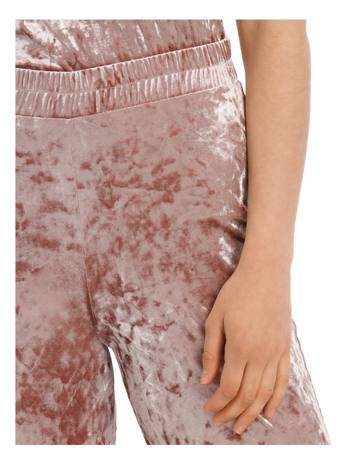 Punti Velour Culotte Pant image 4