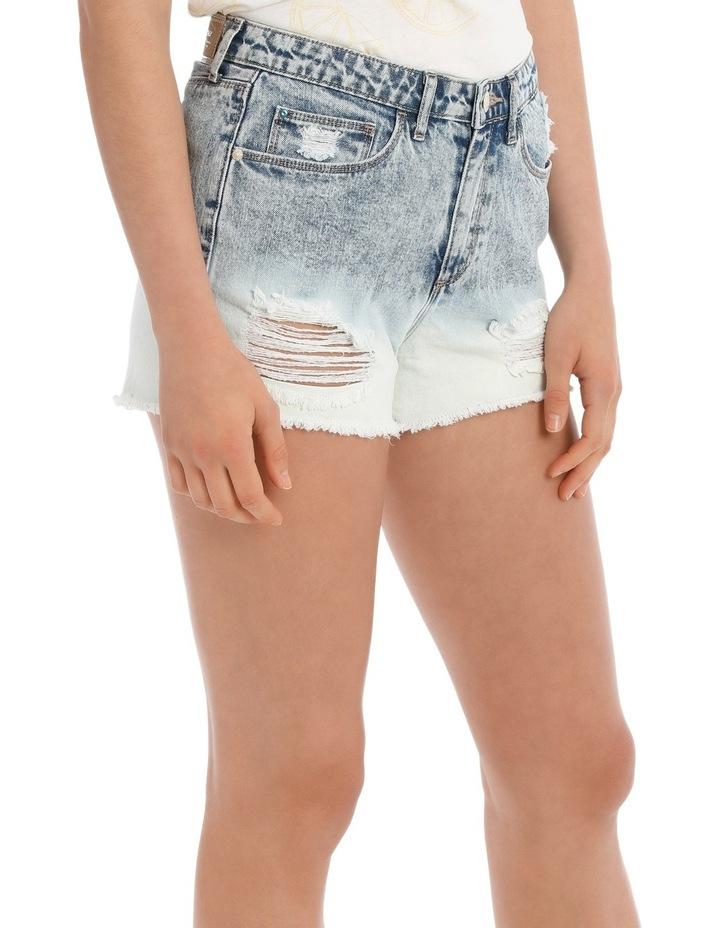 Molly Hw Dip Dye Shorts Cry image 2