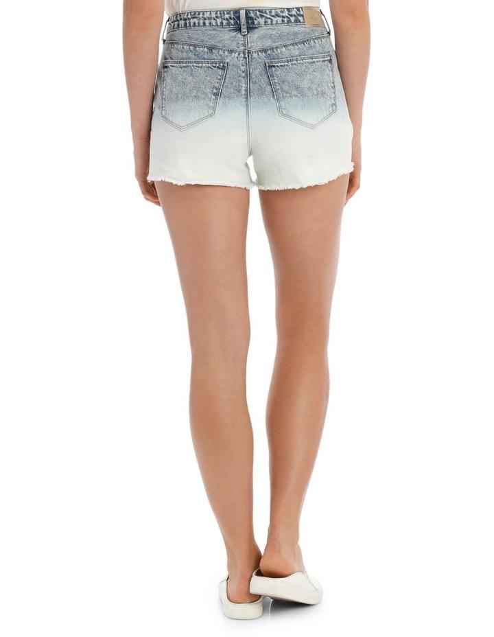 Molly Hw Dip Dye Shorts Cry image 3