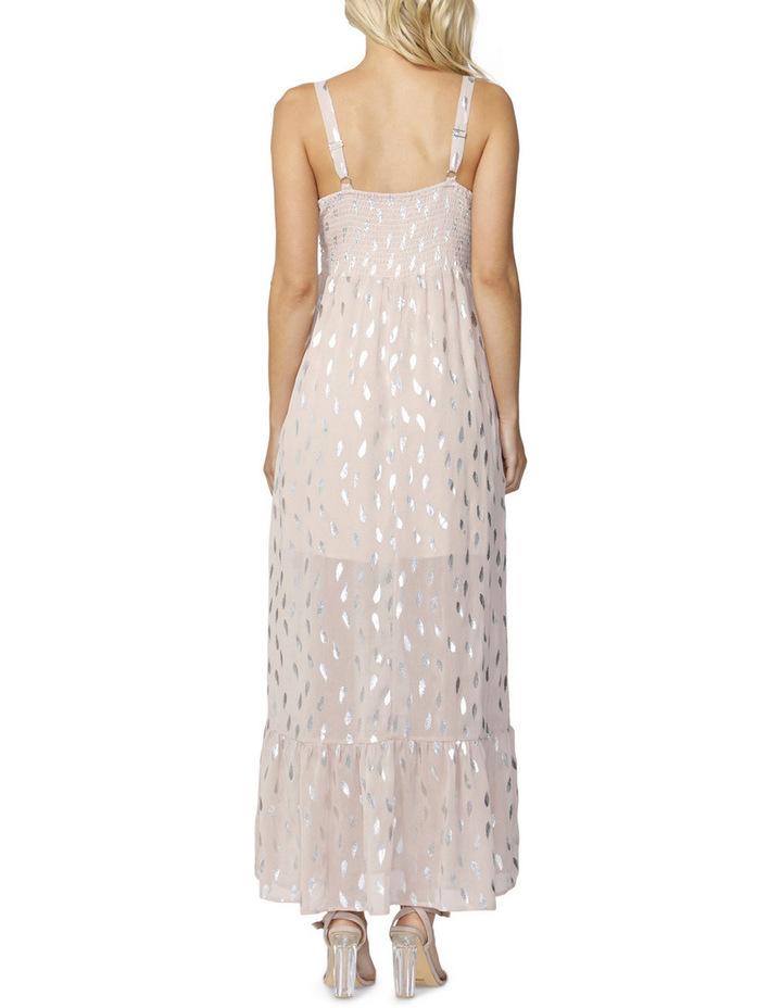 Feather Foil Maxi Dress image 2