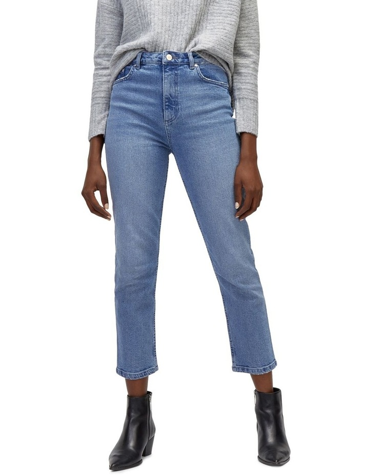 Slim High Rise Jeans image 1