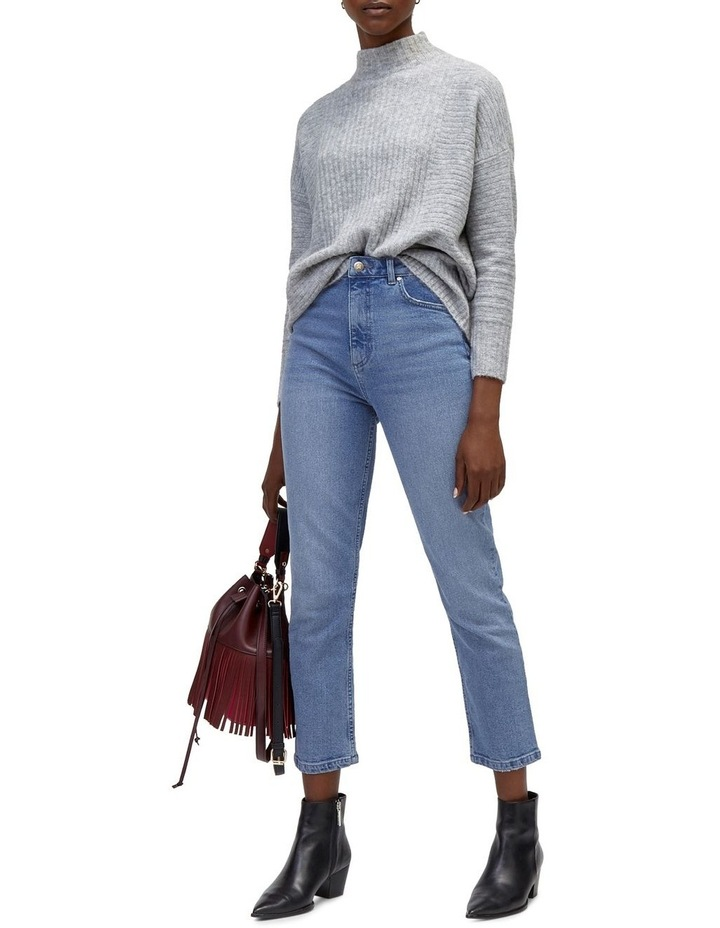 Slim High Rise Jeans image 4