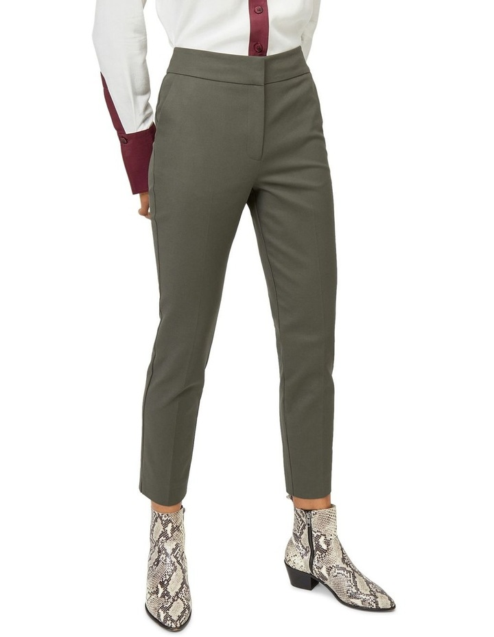 Compact Cotton Trouser image 1