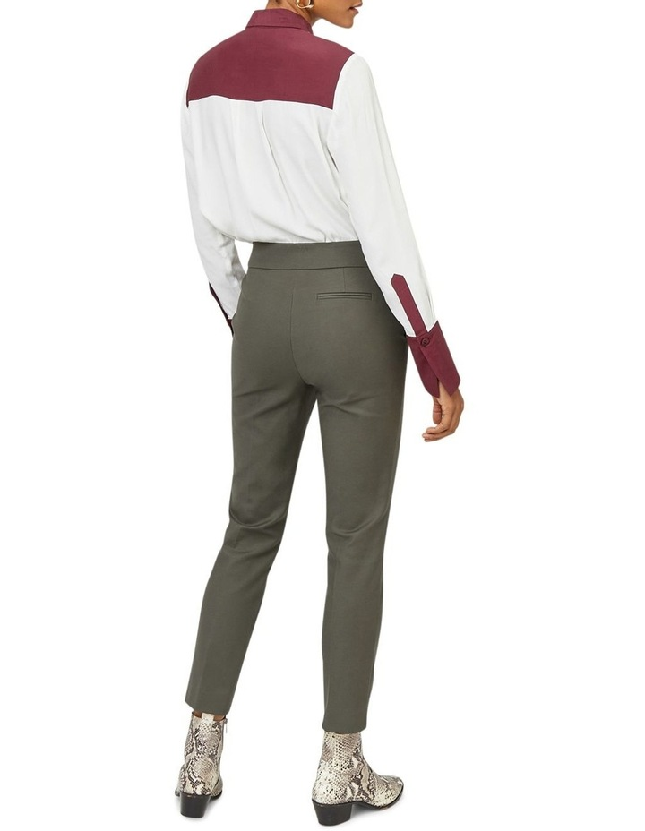 Compact Cotton Trouser image 2